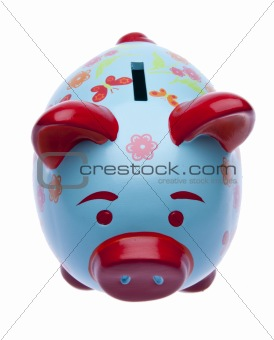 Brightly Colored Piggy Bank
