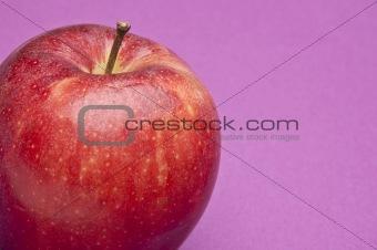 Apple on Purple