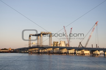 Bridge Construction in St. Augustine, Florida