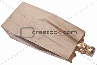 Champage in a Brown Paper Bag