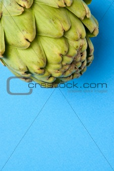 Artichoke on Blue