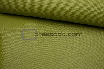 Green Yoga Exercise Mat