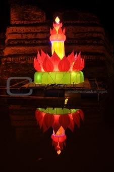 Beautiful Thai lamp