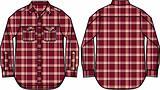 mens check shirt illustration