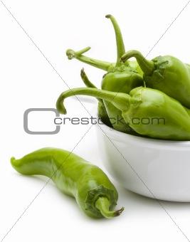 Green chili pepper