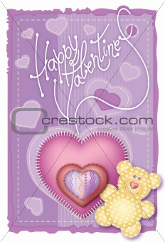 Greeting Card Valentine&#39;s Day