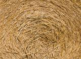 Haystack background.