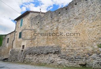 Ancient walls. Bevagna. Umbria.