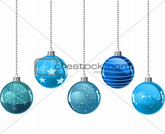 Christmas colour balls