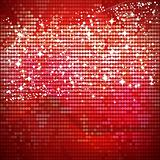 Red shiny vector banner  - vector illustration