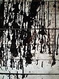 dirty black color drop on wall