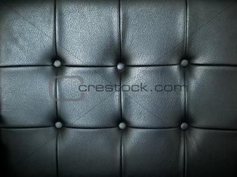 Black leather decoration