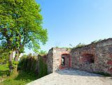 Uzhhorod Castle courtyard (Ukraine)