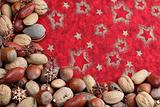 Nut Christmas border