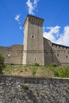 Albornoz fortress. Spoleto. Umbria.