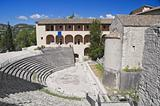 Roman Theater. Spoleto. Umbria.
