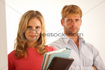 Portrait of business colleagues