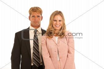 Portrait of business professionals