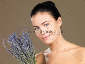 Beauty on natural background
