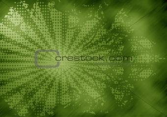 Abstract halftone rays background