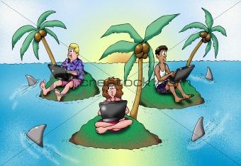 Business Island