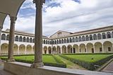 Cloister of St. Domenico Church. Perugia. Umbria.