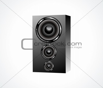 abstract soundbox icon