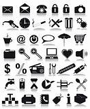 black icons