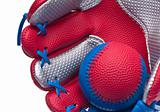 Red Baseball Glove Border
