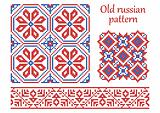 Old Russian pattern.