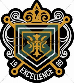 classic emblem badge
