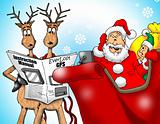 Santa with GPS