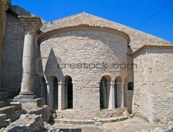 Abbey of the SS. Trinity . Venosa. Basilicata.