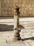 Old fountain in Giovinazzo Old town. Apulia.