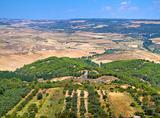Landscape of Montescaglioso. Basilicata.