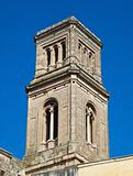 Belltower St. John the Baptist Mother Church. Fasano. Apulia.