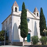 St. Rocco Church. Venosa. Basilicata.