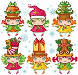 Christmas Santa Helpers series