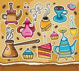 Coffee theme set