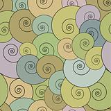 Helix seamless pattern.