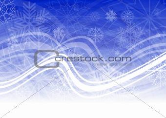 Christmas blue backdrop