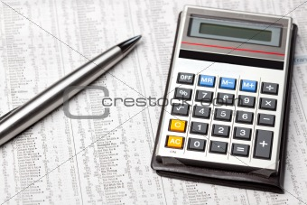 Calculator and share prices