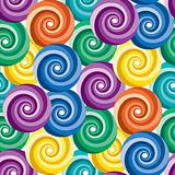 Seamless vivid swirl pattern