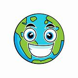 Cute looking earth
