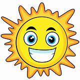 cute looking sun