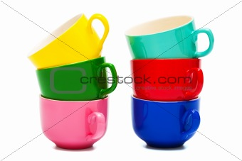 Beautiful color cups