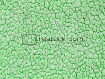 Full Frame Background of a Green Lambs Woolen Fabric