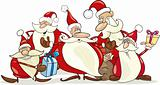 santa clauses group