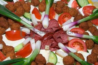 Food arrangement