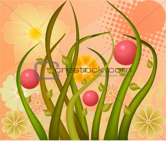 Abstract art  design background vector